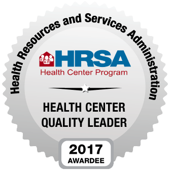 HRSA Health Center Quality Leader 2017 Awardee
