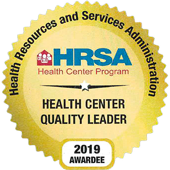 HRSA Health Center Quality Leader 2019 Awardee
