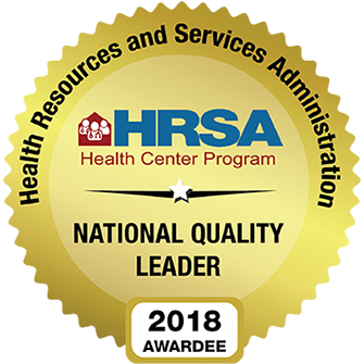 HRSA National Quality Leader 2018 Awardee
