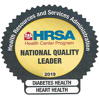 HRSA National Quality Leader 2019 Awardee