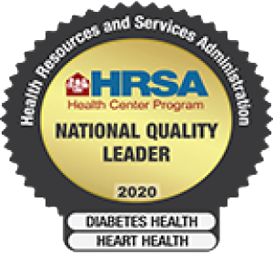 HRSA National Quality Leader 2020 Awardee
